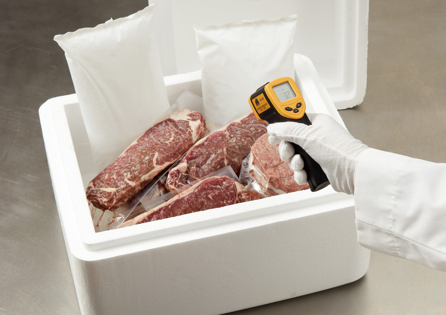 CuraTemp - Freezer Packs for Temperature Accuracy